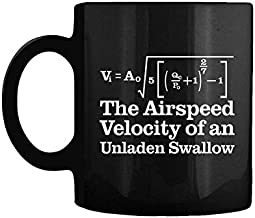 What Is The Airspeed Velocity Of An Unladen Swallow - V=a Gift Coffee Mug
