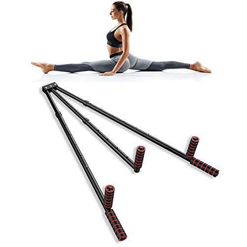 HYPERAU Leg Stretcher Leg Streching Machine Leg Split Extension Device Portable Stretching Equipment Flexibility for Yoga, Ballet, Dance, Martial Arts Black