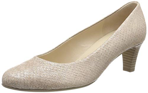 Gabor Shoes Damen Basic Pumps, Mehrfarbig (Skin 65), 42 EU