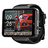 Doneioe 2.4 Inch Smart Watch 3GB+32GB SIM Card Slot Face & Pattern Unlock 2000mAh Dual Cameras IP67 Waterproof Sport Watch with Heart Rate Monitor Sensitive Full Touch Screen for Android/iOS