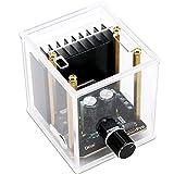 Módulo Amplificador estéreo, Droking Placa de Amplificador de Audio de Doble Canal 30W + 30W TDA7377 DC 12V Clase AB 2.0 Amplificador de Potencia automático Digital con Estuche