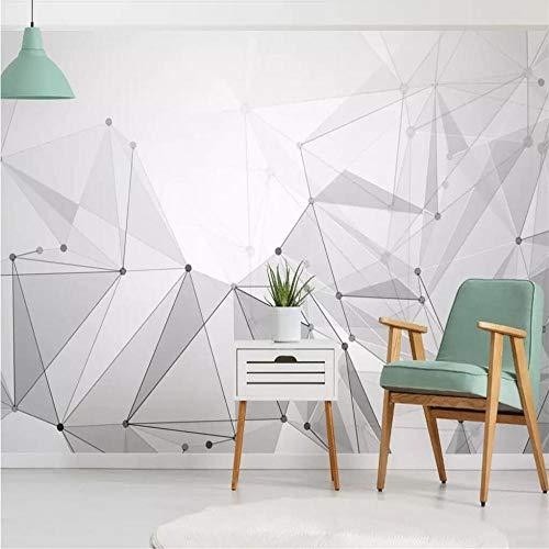Fototapete Wandbild Hintergrund 3d TapetenBenutzerdefinierte Tapete 3d Stereo Foto Wandbild Nordic High-End atmosphärische Marmor Gold Textur geometrische Hintergrund Tapete-Über 430 * 300 cm