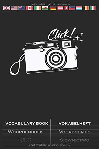 Alte Kamera, beste Kamera Vokabelheft: Vokabelbuch mit 2 Spalten für Enthusiasten des stilistischen Bildes