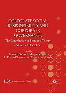 Corporate Social Responsibility and Corporate Governance: The Contribution of Economic Theory and Related Disciplines