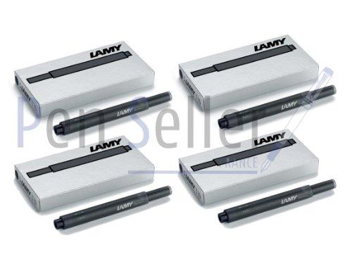 Lamy T10 RFT129EA - Cartuchos para pluma estilográfica Lamy, 4 estuches de 5...