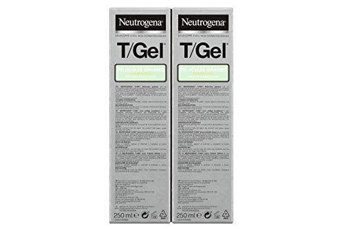 Neutrogena T/Gel Champú (Cabello Normal Y Graso) - 2 Unidades x 250 ml.