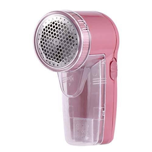 Ba30DEllylelly Máquina de afeitar de sustancias de suéter removedor de pelusa de píldora de ropa portátil de 2 baterías para quitar los pellets
