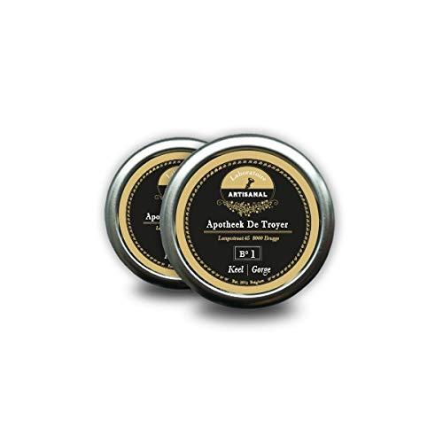 Compresse leccanti con curcuma BCM-95 (Laboratoire Artisanal Bonbon B °1 Throat) 50 g
