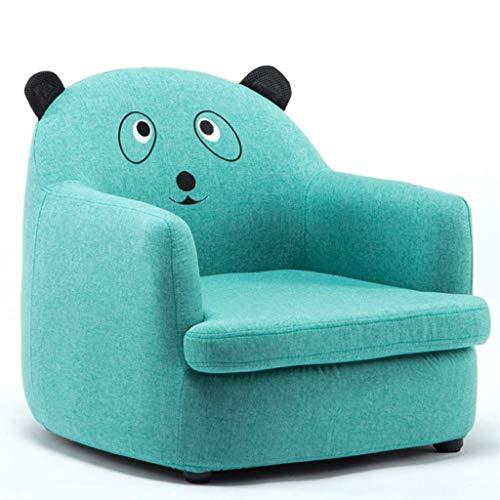 LMCLJJ Kindersofas Schlafsofa für Kinder Gepolsterte Couch Zeitgenössische Kinder Lehnsessel Lounge-Möbel für Jungen und Mädchen Kindersofastuhl (Color : Blue)