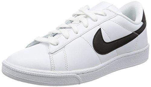 Nike Wmns Tennis Classic, Scarpe da Ginnastica Donna, Bianco (White/Black), 36 1/2 EU