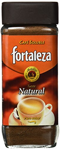 Café Fortaleza Café Soluble Frasco Natural - 200 gr - Pack
