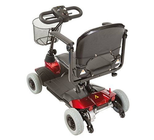 ST1-D Portable, Boot Travel Mobility Scooter - Red