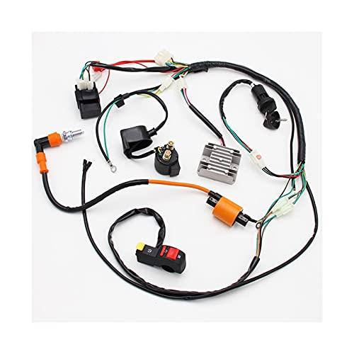 FPZHONG® Cableado De Electricidad Completa Arnés De Arnés CDI Bobina Accesorio Pieza Adecuada para ATV Quad 150/200/250 / 300cc
