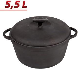Olla de hierro fundido kazán 5,5 litros