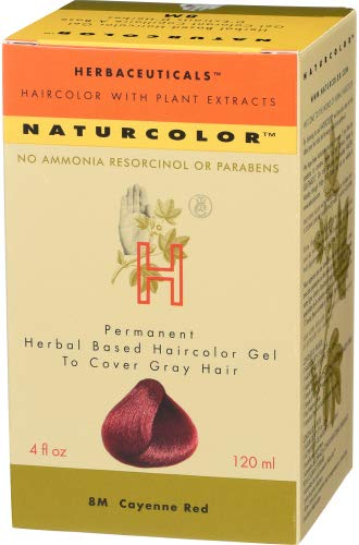 Naturcolor Haircolor Finally popular brand Hair Dye 8M - Ranking TOP12 4 Red Oz Cayenne Fl