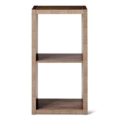 "13"" 2 Cube Organizer Shelf Gray - Threshold™"