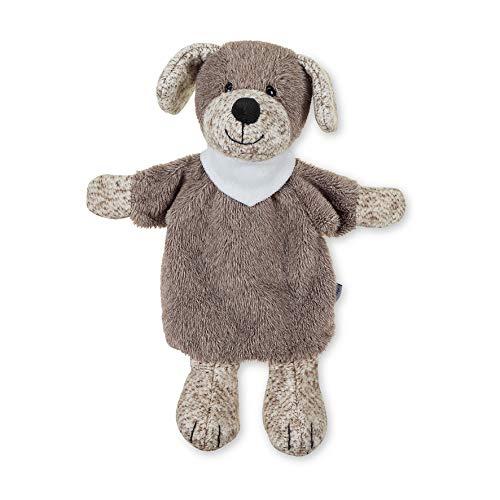 Sterntaler Handpuppe Hund Hanno, Ideal für Puppentheater und Rollenspiele, 30 cm, Braun