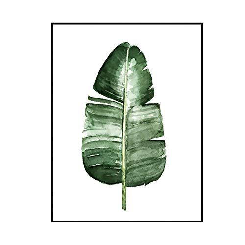 """CHRONSTYLE Poster 40x50cm Blätter & Pflanzen - Design """"Leaves- Bilder, KunstdruckePrints von unabhängigen Künstlern - Botanische Kunst mit Pflanzen (2, 40 * 50cm)"""