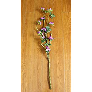 Silk Flower Arrangements ZJJZH Artificial Decorative Flowers Artificial Flower Azalea Fake Flower Living Room Decoration Flower 90cm Flower Products Include:Artificial Flowers,Decorative Artificial Plants.