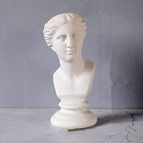 Verzamelobjecten Sculpturen Romeinse Mythologie Venus Hoofd Portretten Vaas Slaapkamer Figuur Standbeeld Bloemstuk Scandinavische Ornamenten Bloempot