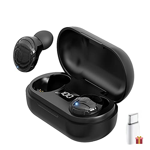 Auriculares Bluetooth, Auriculares inalámbricos Bluetooth,In-Ear Auriculares,8 Horas de reproducción Permanente, Auriculares Deportivos Bluetooth,USB-C, para Xiaomi Sony Samsung iPhone Huawei