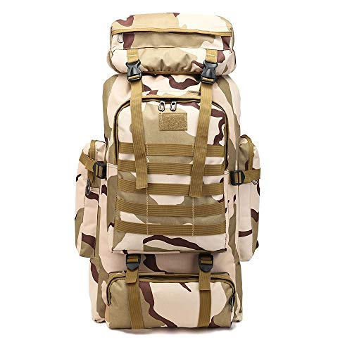 Outdoor-sport-rugzak, waterdichte reistas, wandelen, kamperen, uniseks, camouflage rugzak, ultra light multi pocket-opvouwbare rugzak