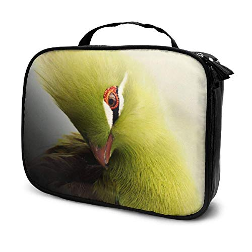 Bird Adesivo - Bolsa de maquillaje portátil para exteriores, con cremallera, bolsa para cosméticos