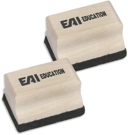 EAI Education Mini Wooden Erasers of Popular brand - 10 It is very popular Set