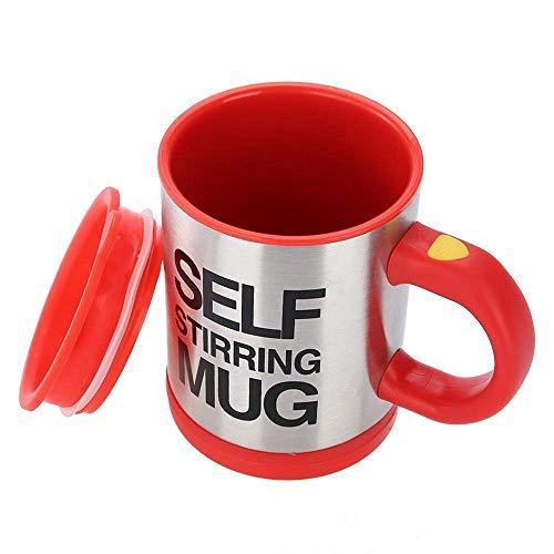 Taza de café con autoagitación, bonita taza de regalo de Navidad, cumpleaños, para oficina, cocina, hogar, viajes
