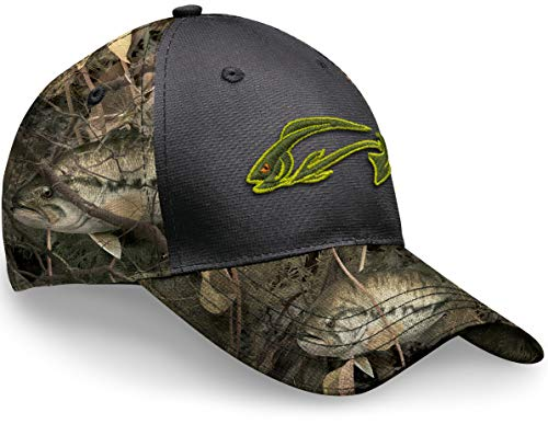 Fishouflage Bass Fishing Hat – Tight Lines Camo Hat