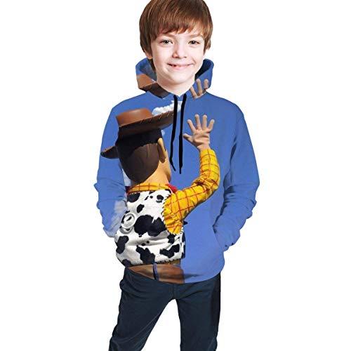maichengxuan Toy St-Ory Impresión Digital 3D de Moda, Suéter con Capucha para...