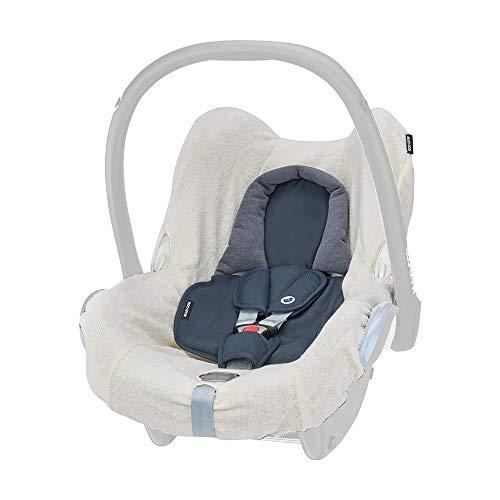 Maxi-Cosi Sommerbezug, passend für Maxi-Cosi Babyschale CabrioFix, Schonbezug für den Kinder Autositz, der ideale Bezug für die warmen Sommertage, fresh ecru