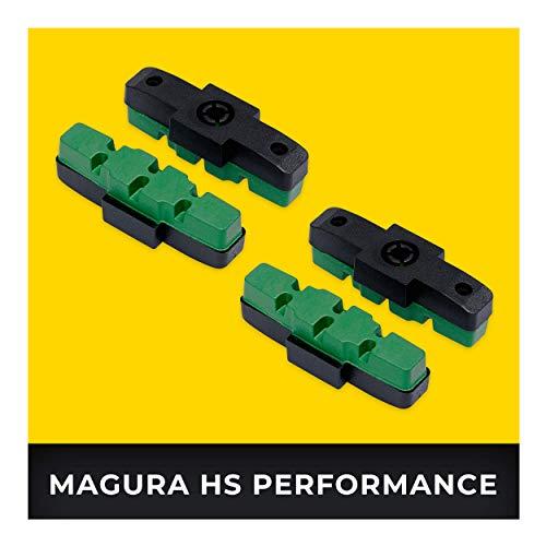 Magura HS eBike Bremsbeläge 2 Paar HS11 HS22 HS24 HS33 HS 33 RE HS 33 R Urban HS 33 R Trial HS 33 R Firmtech HS 33 R HSI I Hohe Bremsleistung I Langlebige & Passgenaue Bremsklötze