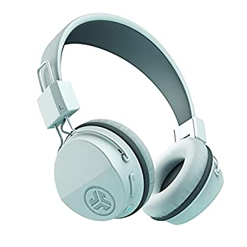JLAB Neon Bluetooth Folding On-Ear Headphones | Wireless Headphones | 13 Hour Bluetooth Playtime | Noise Isolation | 40mm Neodymium Drivers | C3 Sound  Crystal Clear Clarity  | White