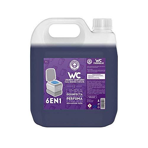 Motorrevive - Limpieza Inodoro Portátil WC Químico Caravanas - 5 litros