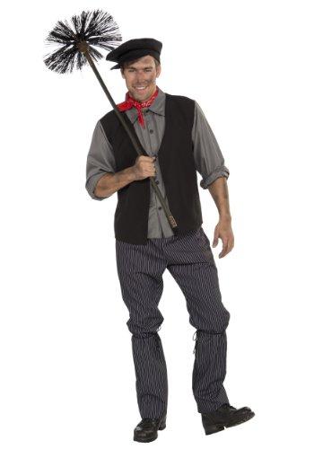 Forum Novelties Men's Chimney Sweep Costume, Multicolor, Standard