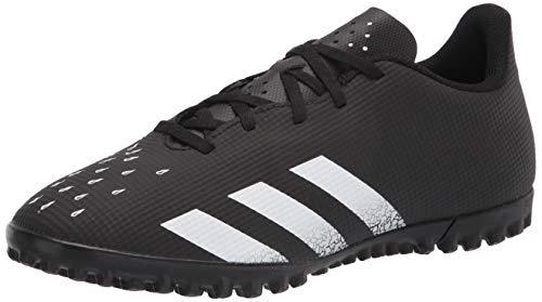Adidas Predator Freak .4 Men's Turf Soccer Shoe, Black/White/Black, Numeric_13