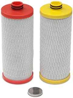 Aquasana Replacement Filter Cartridges for 2-Stage Under Sink Water Filtration System