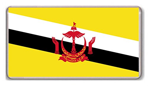 Flagge Brunei Magnet