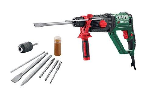 Parkside Bohr und Meisselhammer Bohrhammer Werkzeug Hammer PBH 1050 B2 mit Aufbewahrungskoffer