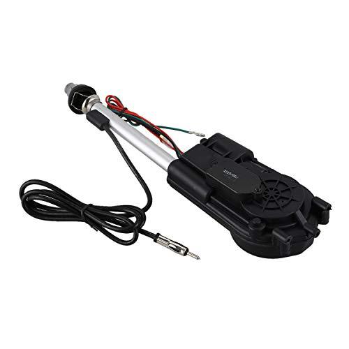 Wivarra Conjunto de Antena electrica de Propulsion automatica de Radio de Coche Negro