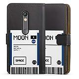 DeinDesign Étui Compatible avec Motorola Moto X Play Étui Folio Étui magnétique NASA Billet...