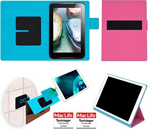 Hülle für Lenovo IdeaTab A1000 Tasche Cover Hülle Bumper | in Pink | Testsieger