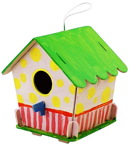 Robo Time Bird House Puzzle 3D, Multicolore, F199