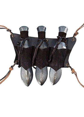 Look and Feel medievale fantasy In pelle di alta qualità. Ideale per travestimenti, larp e cosplay. Progettato per essere indossato e usato