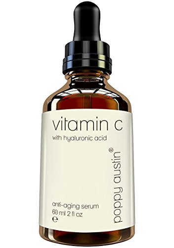 Vitamin C Serum for Face - Vegan Certified, Cruelty-Free, Organic & Eco Friendly - with Hyaluronic Acid, Jojoba Oil & Vitamin E - Double Sized 2 oz Bottle