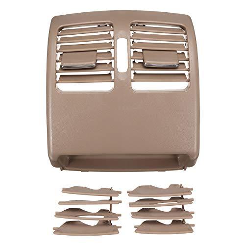 NADAENQ Air Vent Outlet Grill, para Mercedes para Benz C/E-Class W204 W207 20483009548R73 Black/Beige Coche Coche de la grilla de la Consola de la Consola,Beige