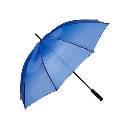 Regenschirm blau Gästeschirm Stockschirm Schirm Regen Wetter (blau)