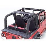 Rugged Ridge 13611.15 Roll Bar Cover Kit, Full; 92-95 Jeep Wrangler YJ