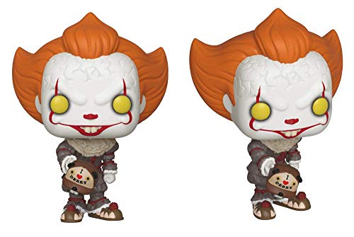 Pop. Vinyl: Movies: It: Chapter 2 - Pennywise W/ Beaver Hat W/ Chase (Styles May Vary) 2